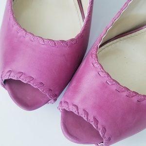 Enzo Angiolini Shoes - 🎯Enzo Angiolini Leather Platform Heels